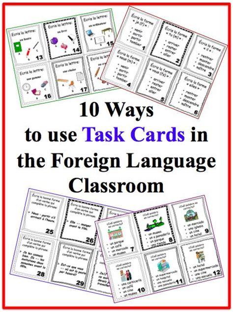 7 ways to use flashcards in language teaching best 25 foreign language teaching ideas on pinterest