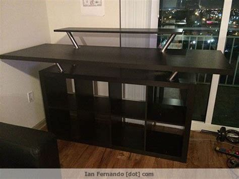 Diy Ikea Reception Desk by Best 25 Ikea Stand Ideas On Tv Cabinet Ikea
