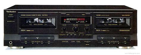 Technics Rstr515  Manual  Double Cassette Deck Hifi