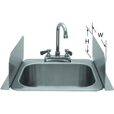 splash guard kitchen sink deck mount splash guard for sinks gsw