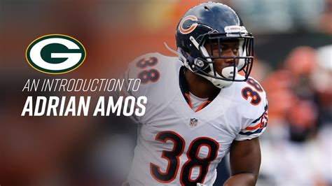 Ol' wilie forgot to turn off his camera and ended up freeing his willy in. Five things to know about Adrian Amos