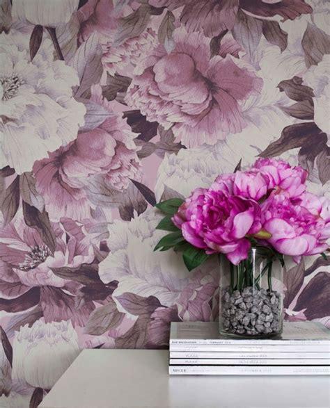 Tapisserie Hello by O 249 Trouver Du Papier Peint Floral H 235 Ll 248 Blogzine