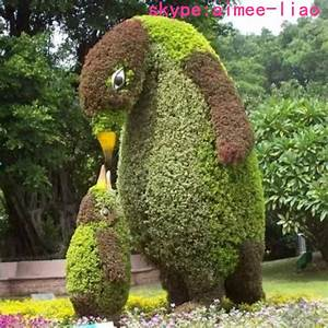 Q101737 made in China artificial grass animal decoration