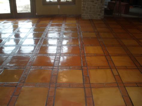 pin by oz auge on floor tile stained concrete