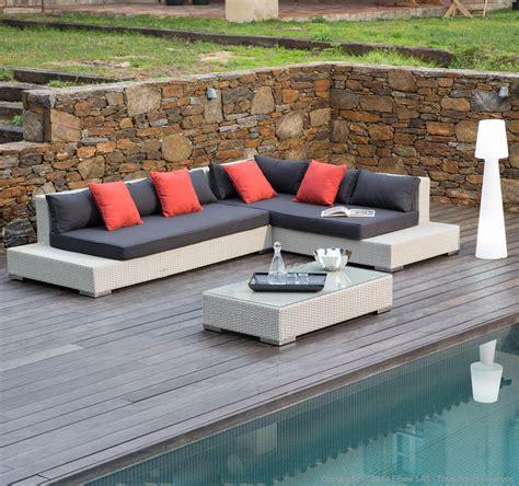 canapé angle 5 places beau salon de jardin d angle pas cher jskszm com id 233 es