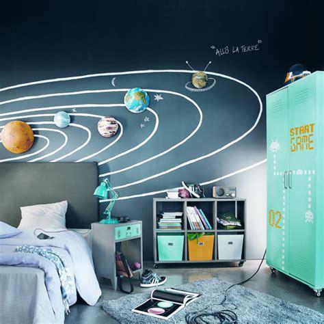 deco chambre garcon theme espace visuel 4