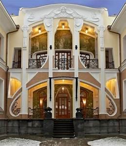 Russian Neo Art Nouveau architecture - House Decorators