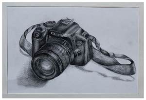 Canon Camera Sketch Drawing