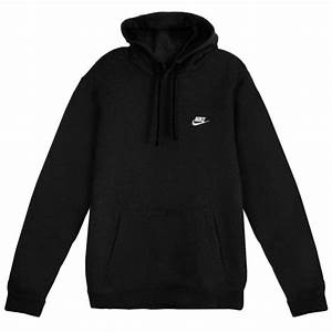 Nike Mens Sportswear Pull Over Club Hooded Sweatshirt Nk804346 010 Large | eBay