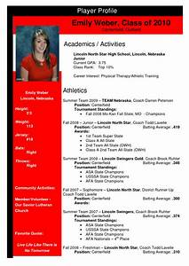 best photos of athletic profile sheet templates student With soccer player profile template
