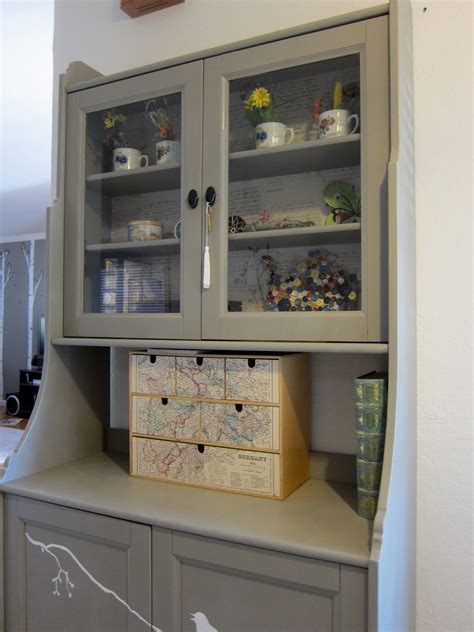 A Hutch Cabinet For The Kitchen Nook  Margarete Miller
