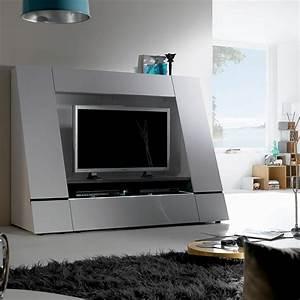 Tv Wand Weiß : tv wand cuuba luxor 45 hochglanz wei home24 ~ Sanjose-hotels-ca.com Haus und Dekorationen