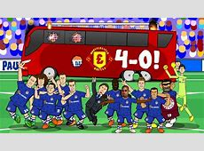 40! THE BUS IS BACK IN TOWN! Chelsea vs Man Utd 2016