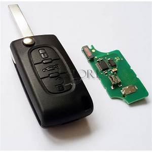Cle Peugeot 308 : ce0523 cle complete telecommande plip peugeot 107 207 ~ Nature-et-papiers.com Idées de Décoration
