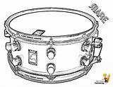 Coloring Drum Snare Musical Drums Pages Sheet Percussion Colouring Yescoloring Drumming Boys Majestic sketch template
