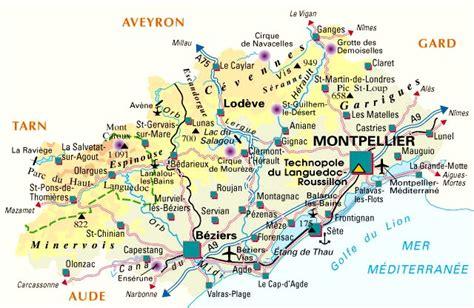 carte departement herault d 233 partement herault et codes postaux herault