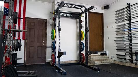 rep rack half 5000 fitness hr gym garage squat racks pr articles end runner