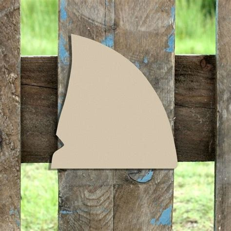 shark fin unfinished cutout wooden shape paintable wooden mdf diy craft diy craft wall decor