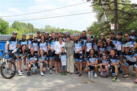 bureau vallee laval une quarantaine de cyclistes du tour cibc charles bureau