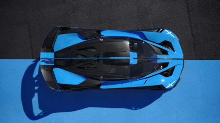 The car, on race fuel, produces 1850 hp, and 1600 on regular octane fuel. Bugatti Bolide: 1,850 HP of pure Adrenaline celebreMagazine