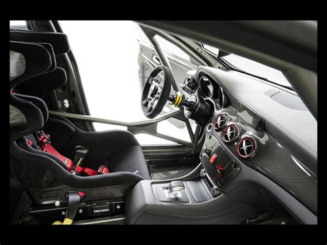 There's camouflage on every inch of the car's surface, but it is easy to see that this is the there are no shots of the interior, but don't expect to see wholesale changes from the layout of the current amg cla 45. 2014 Mercedes-Benz CLA 45 AMG Racing Series - Interior - 1 - 1024x768 - Wallpaper