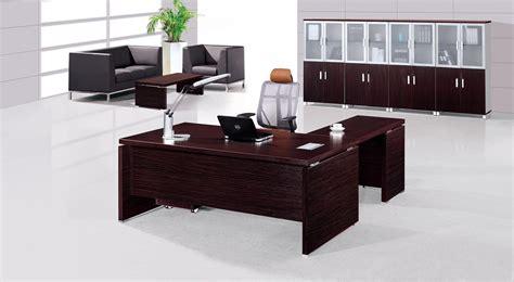 bureau furniture modern executive office table design decobizz com