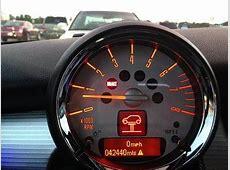 Mini Cooper 2001 to 2006 Warning Lights