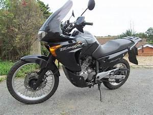 Sold  2001 Honda Transalp 650 Black