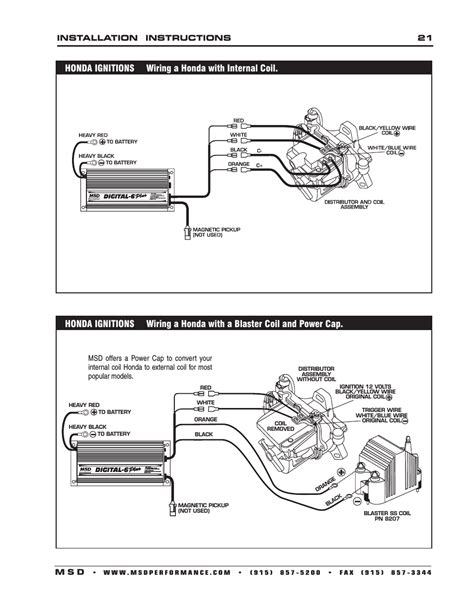 msd pn 6425 wiring diagram on 6520 digital 6 plus ignition