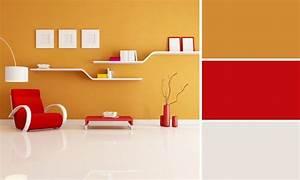 quelles couleurs se marient avec le jaune deco rouge With quelle couleur avec du jaune 6 couleur peinture salon conseils et 90 photos pour vous