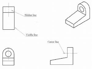 13  U2013 Engineering Drawing Illustrating The Different Line