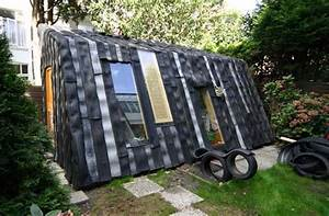 Recycled Tire Garden Shed Apartment Therapy