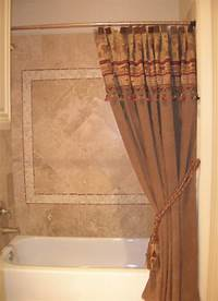 custom shower curtains Custom Shower Curtains Bathroom Traditional with Green ...