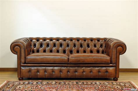 Divano Stile Chesterfield : Chesterfield 2 Maxi Seater Sofa