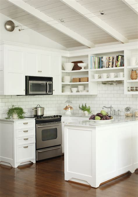 Kitchen With Open Shelving  Transitional  Kitchen  Bear