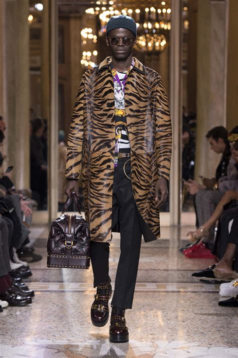 versace fall winter  mens collection  skinny beep
