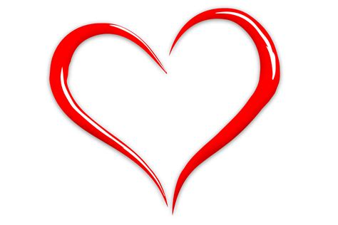 Clipart Cuore by Free Images Line Symbol