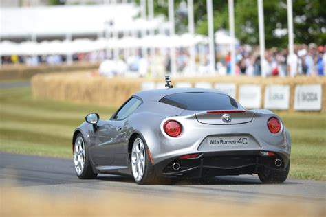 Alfa Romeo 4c Rear 2018 Goodwood Festival Of Speed