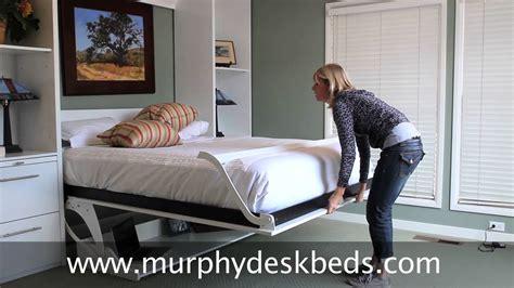 murphy deskbeds queen vertical  white murphy bed