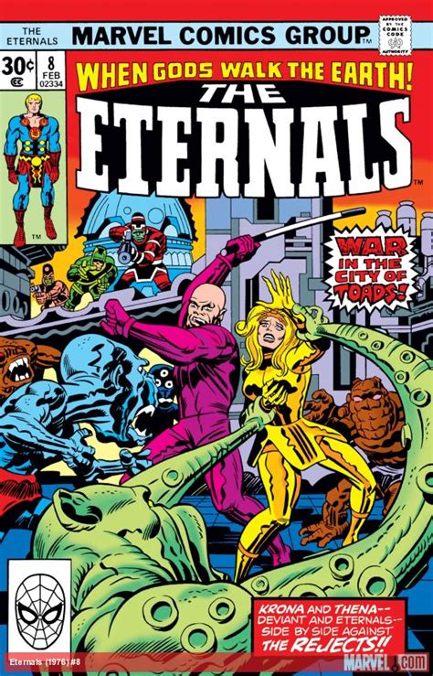 Eternals (1976) #8 | Comic Issues | Marvel