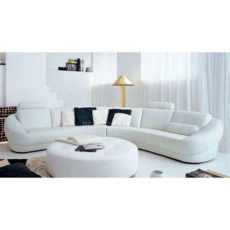 canapé d angle en cuir design canapé d 39 angle design en cuir aquila pouf pop design fr