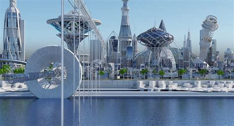 ArtStation - Future City HD 2018 | Game Assets