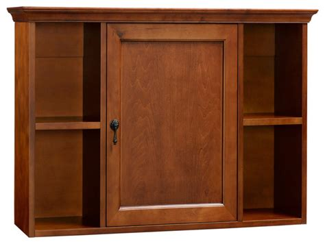 Ronbow Lighted Medicine Cabinet by Ronbow Traditional Bathroom Wall Cabinet Colonial Cherry