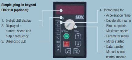 sew eurodrive movitrac b series modular design and operation