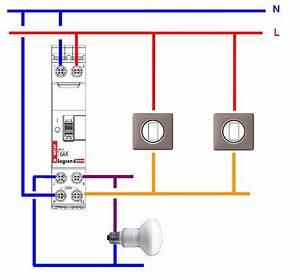 Cabler Un Va Et Vient : c blage telerupteur schema explication elecproshop ~ Voncanada.com Idées de Décoration