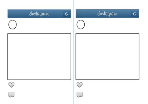 instagram template teaching resources
