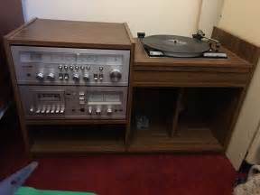 vintage retro steteo system hi fi in cabinet 163 54 00 picclick uk