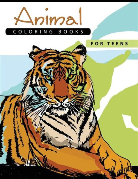 animal coloring books  teens stress relief coloring