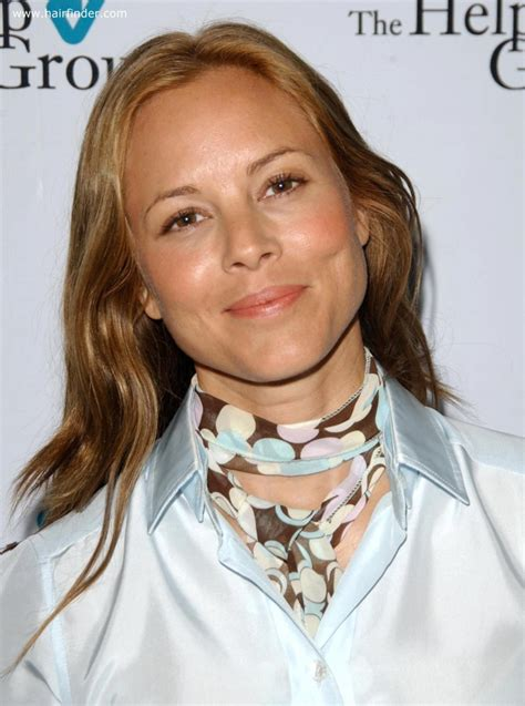 maria bello matching hair color  brown eyes