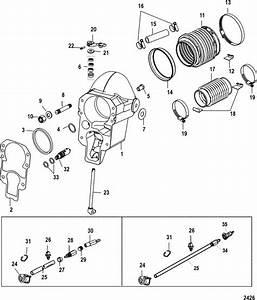 Mercruiser Alpha One  Gen  Ii  1998  U0026 Up Bell Housing Parts